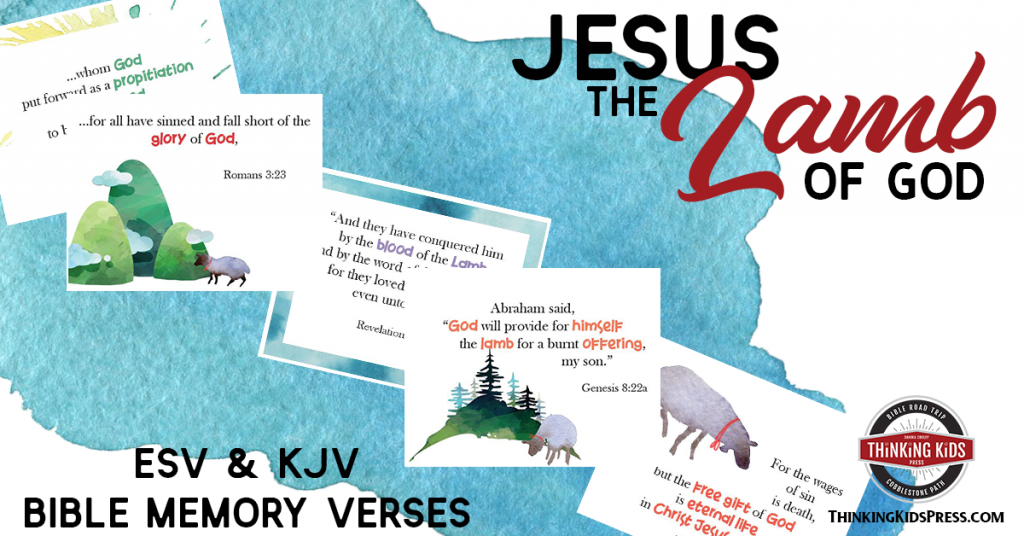 Jesus the Lamb of God Bible Verses for Children
