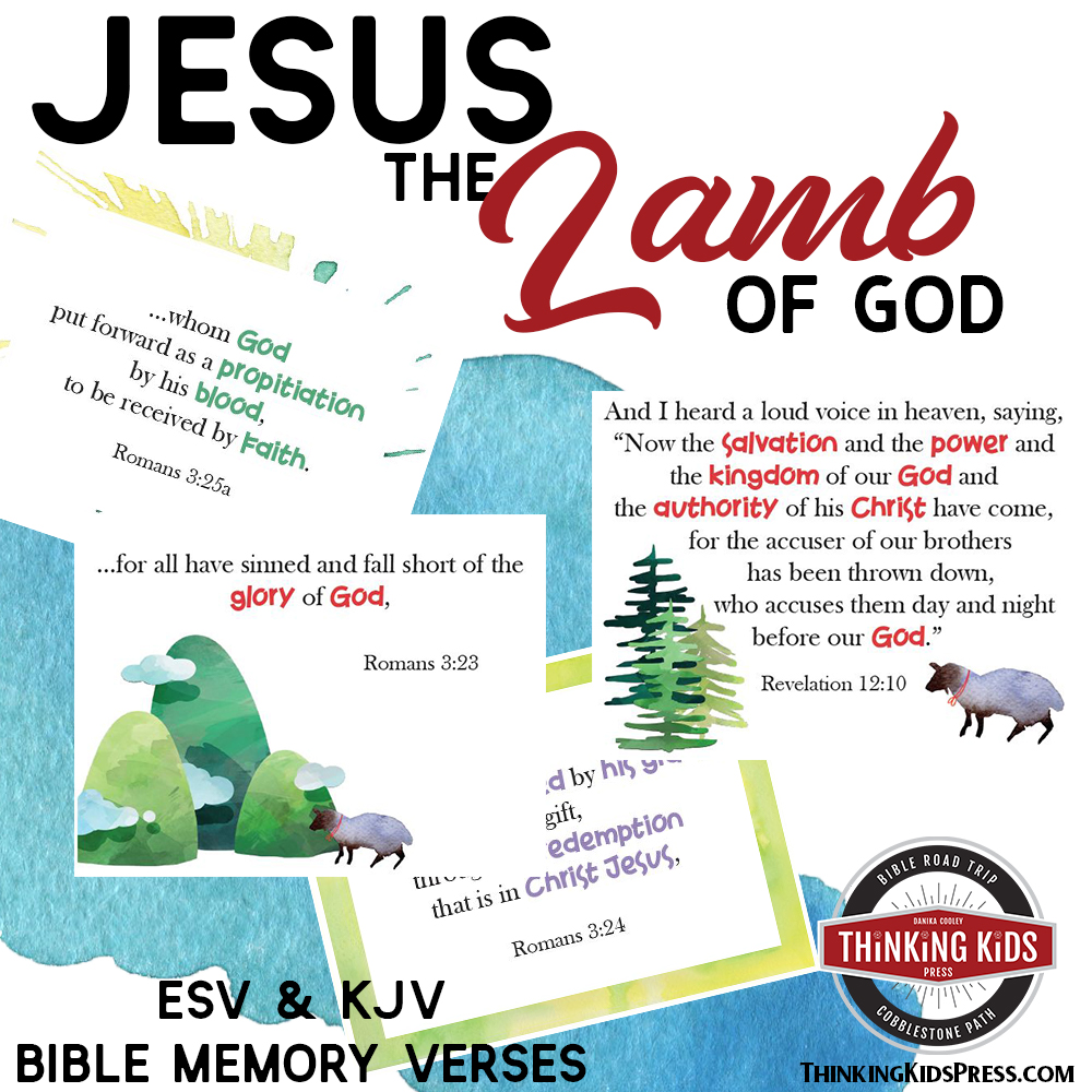 Jesus, the Lamb of God, Bible Verses for Children