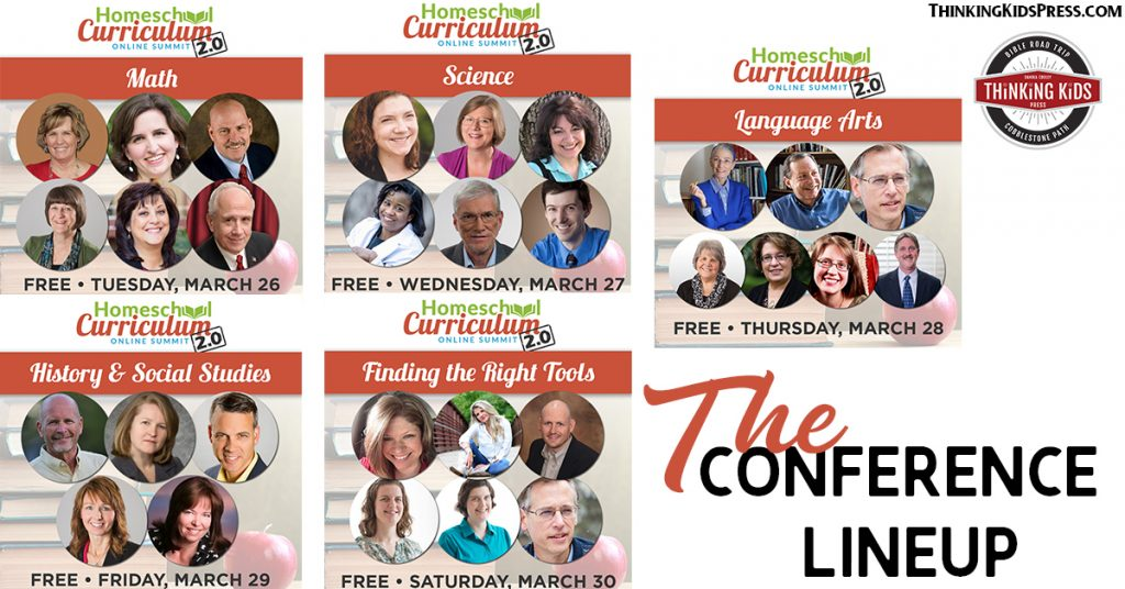 Online Homeschool Curriculum Conference Line Up