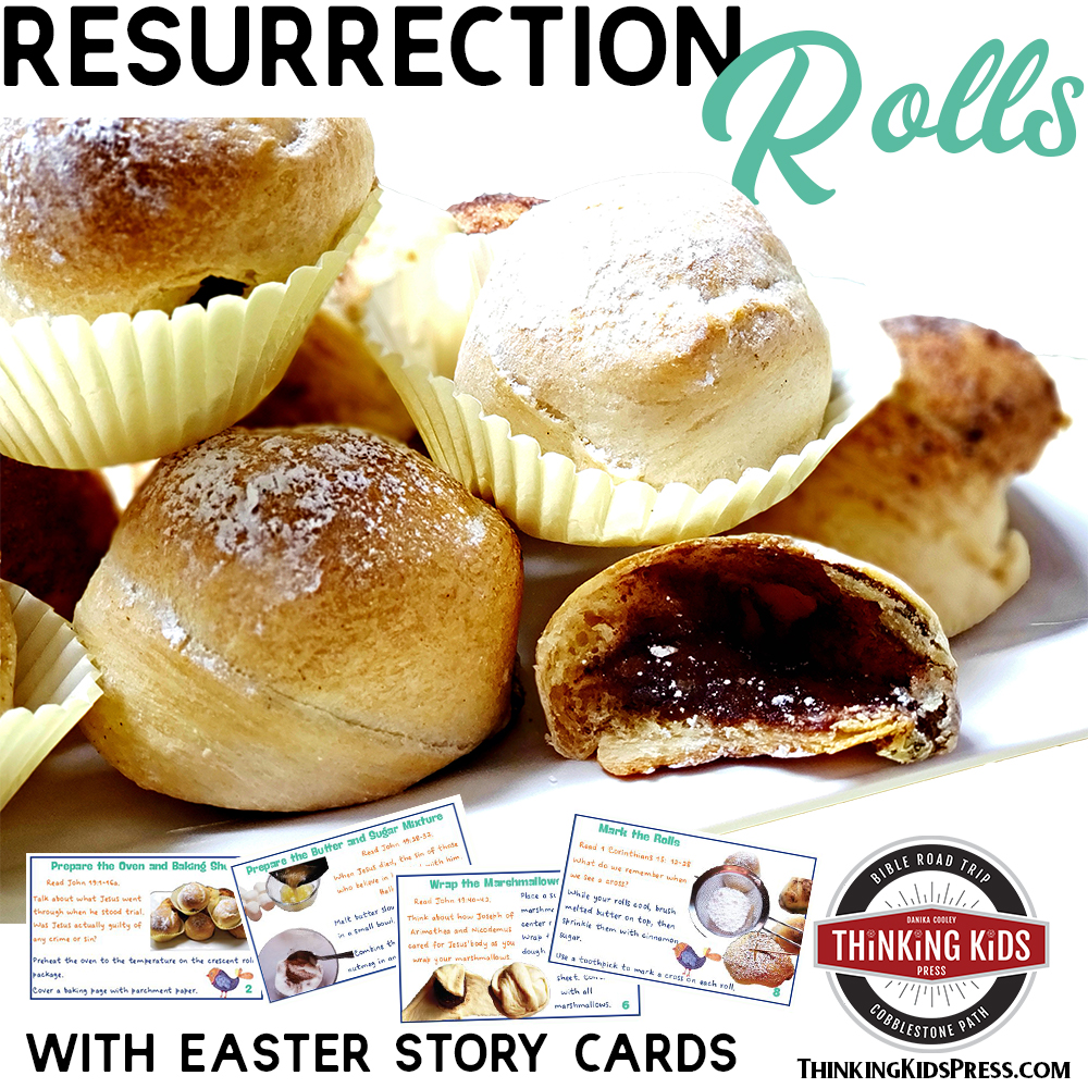 Resurrection Rolls Recipe and Easter Story Cards