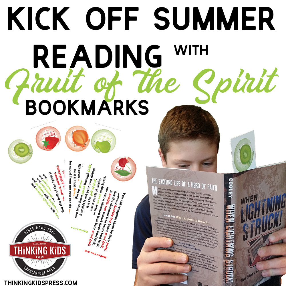 Kick off Summer Reading with Fruit of the Spirit Bookmarks