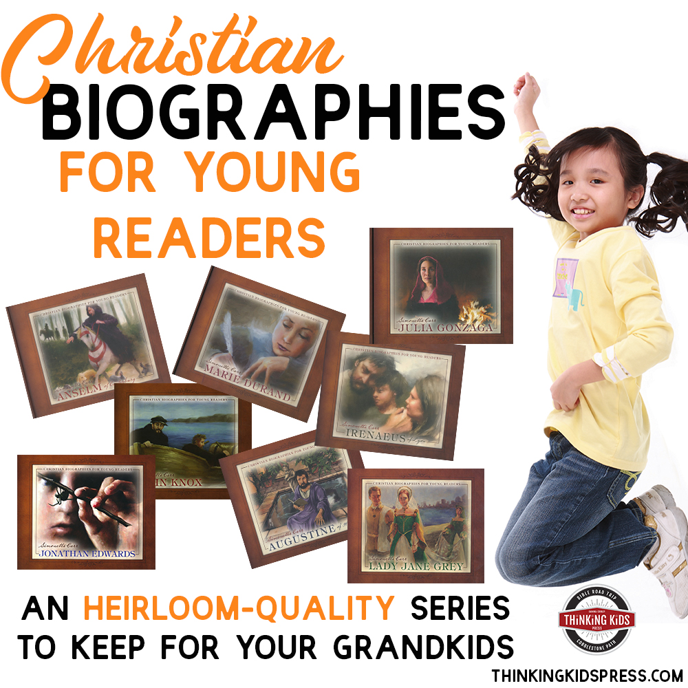 Christian Biographies for Young Readers from Simonetta Carr