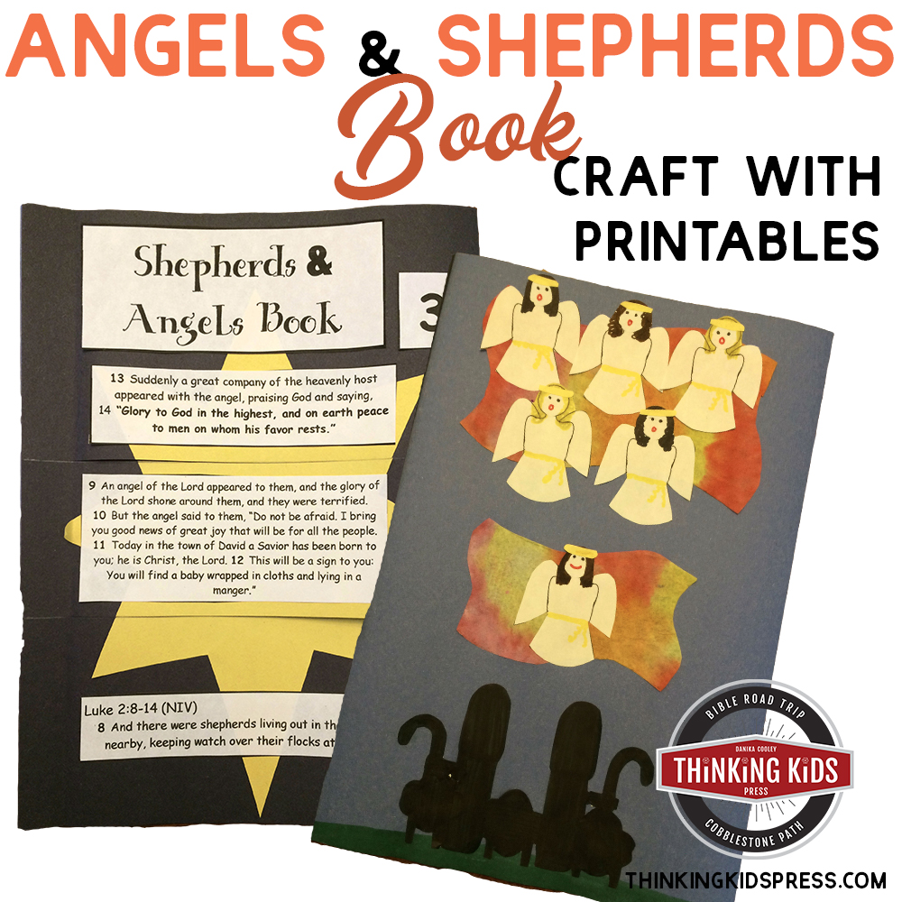 Angels and Shepherds Craft Book