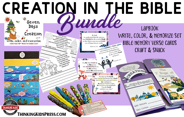 Creation in the Bible Family Bible Study Bundle