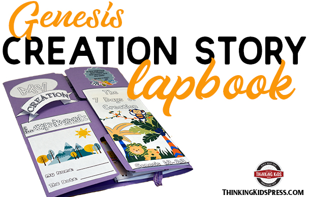 Genesis Creation Story for Kids Lapbook
