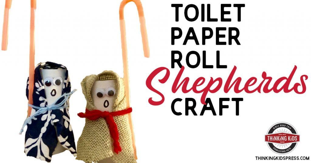 Toilet Paper Roll Shepherds Craft