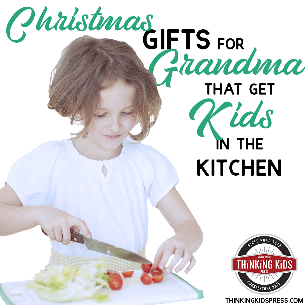 Christmas Gifts for Grandma That Get Kids in the Kitchen