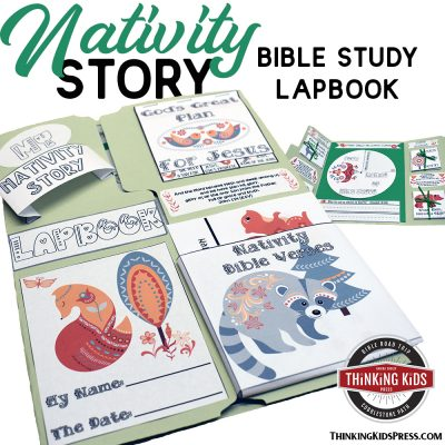 Christmas Nativity Story Lapbook | A fun, hands-on Bible study!