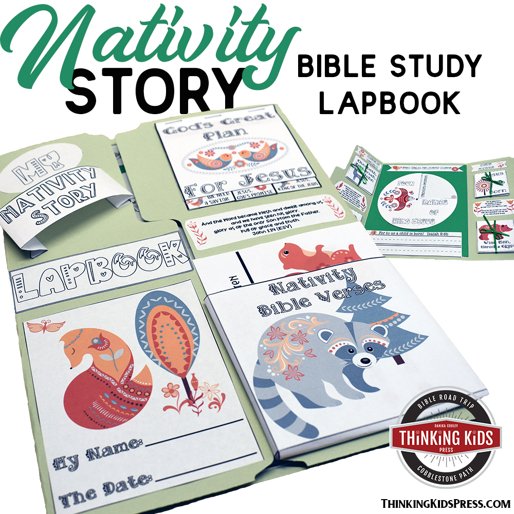 Christmas Nativity Story Lapbook
