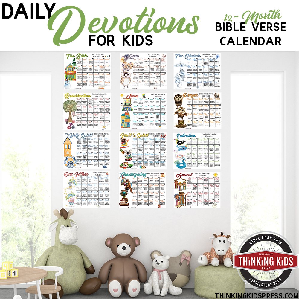 Daily Devotions Bible Verse Calendar