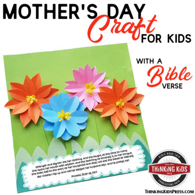 A Bible Verse Mother's Day Craft Kids Will Want to Make