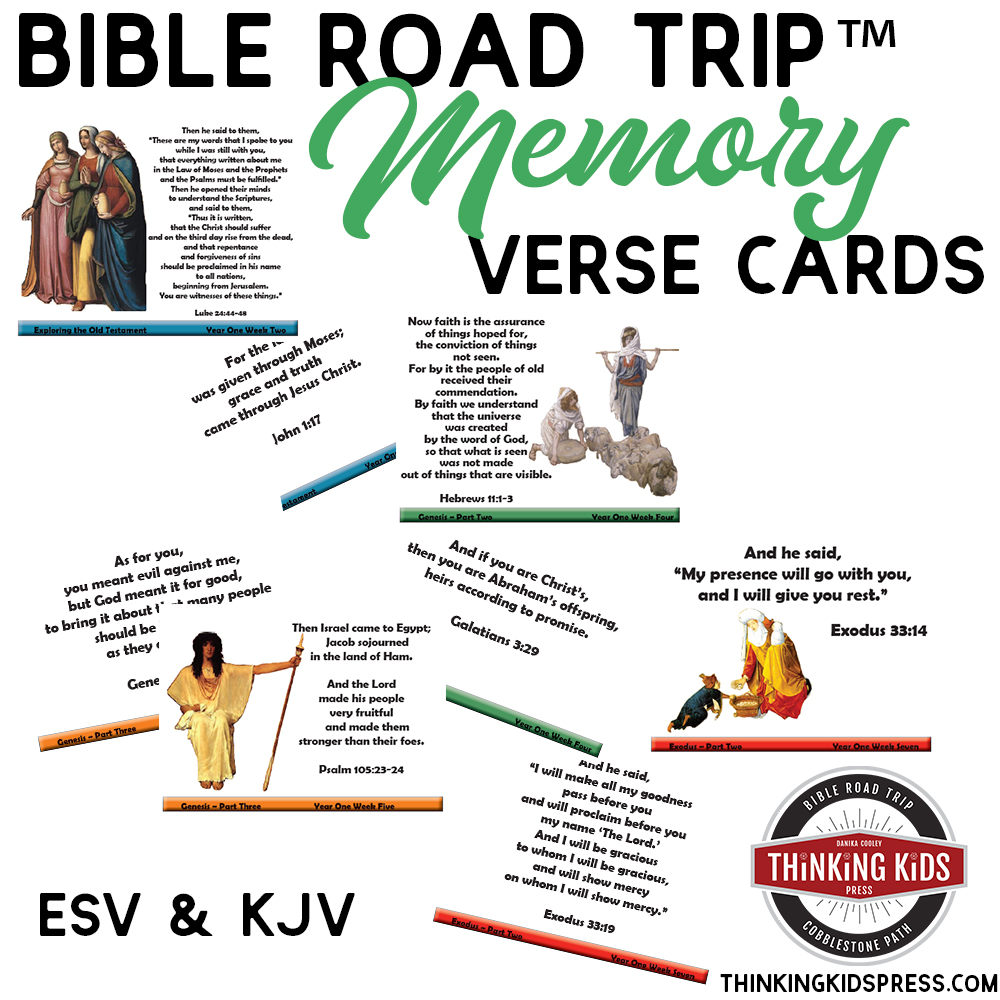Bible Road Trip™ Bible Memory Verse Cards