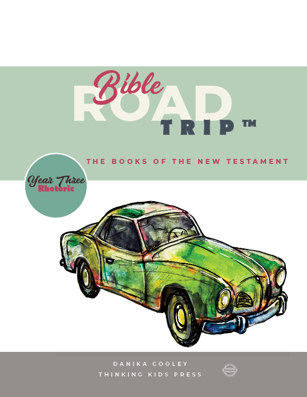 Bible Road Trip™ Year Three Rhetoric Curriculum