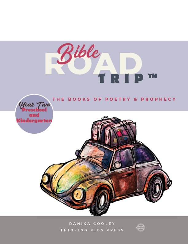 Bible Road Trip™ Year Two Preschool and Kindergarten Curriculum