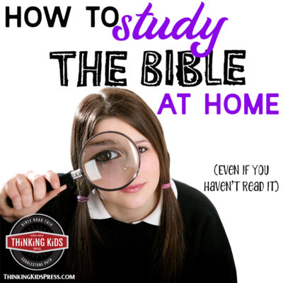 How to study the Bible at Home