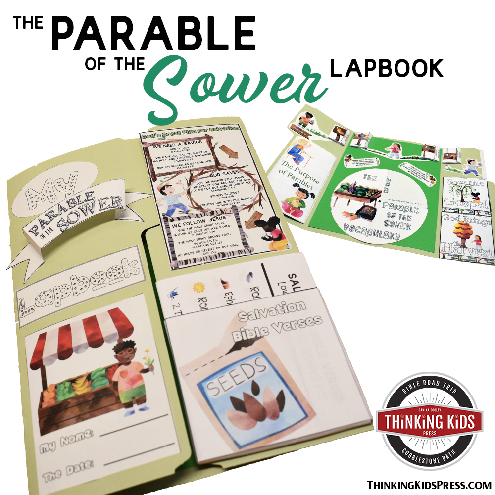 The Parable of the Sower Bible Lesson Lapbook