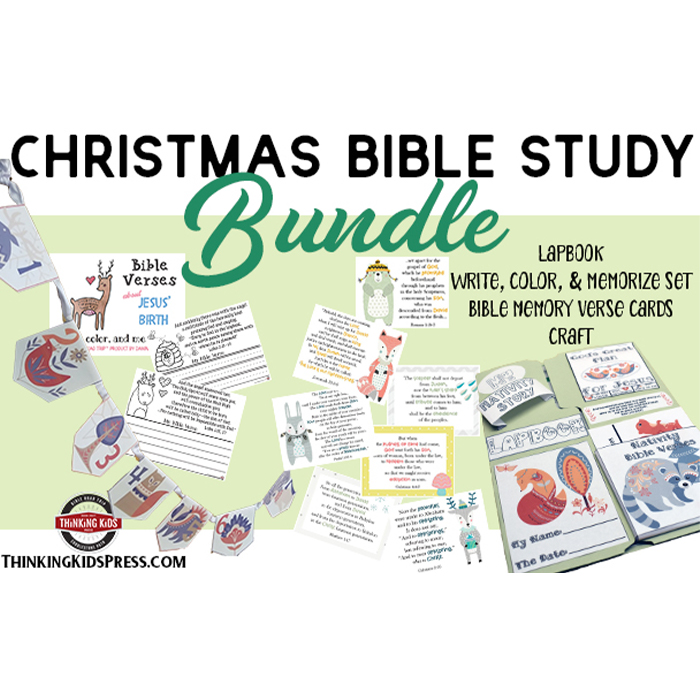 Christmas Family Bible Study Bundle