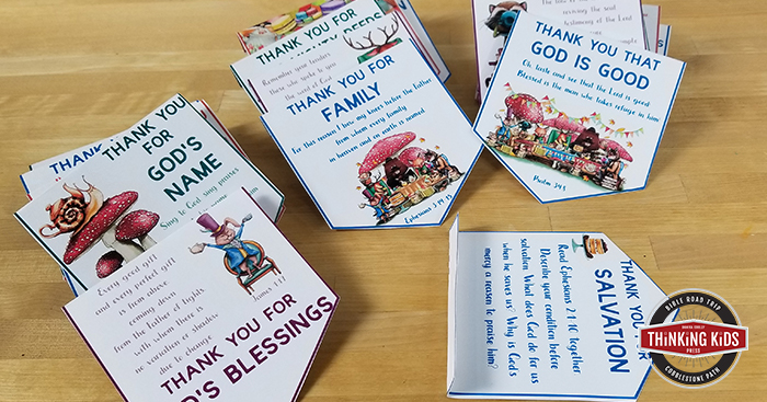 Thanksgiving Banner with Printable Thanksgiving Devotions