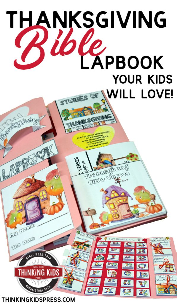 Thanksgiving Bible Lesson for Kids ( Lapbook )