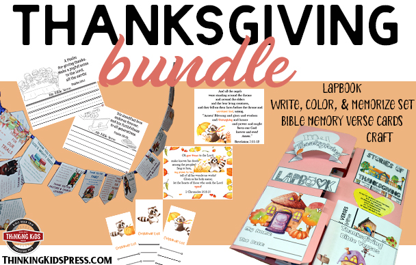 Thanksgiving Bible Study Bundle