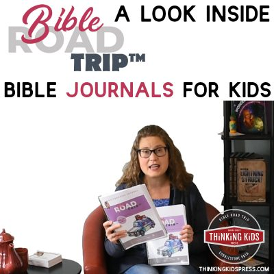 Bible Journals for Kids | Inside Bible Road Trip™ Notebooking Journals