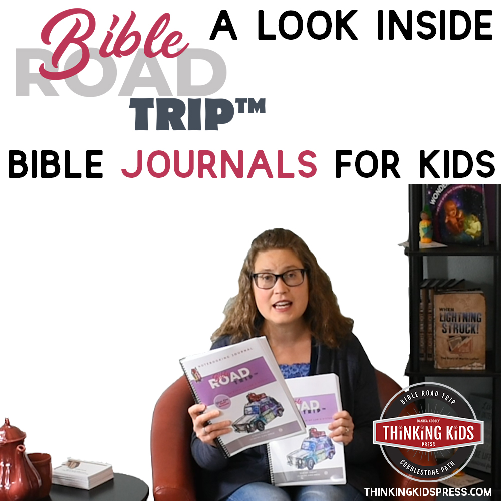 Bible Journals for Kids | Bible Road Trip™ Notebooking Bible Journaling for Kids