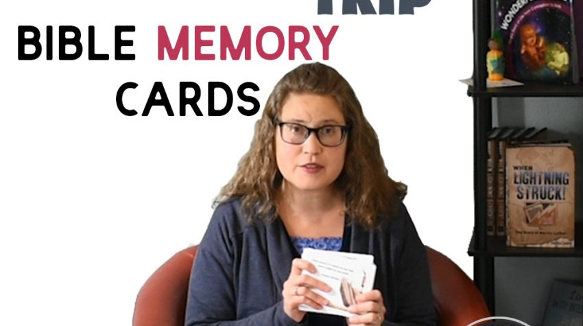 Bible Memory Cards for Bible Road Trip™