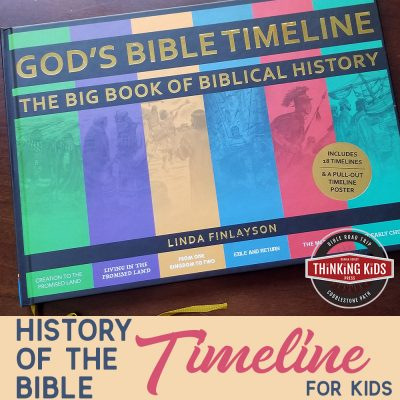 History of the Bible Timeline for Kids
