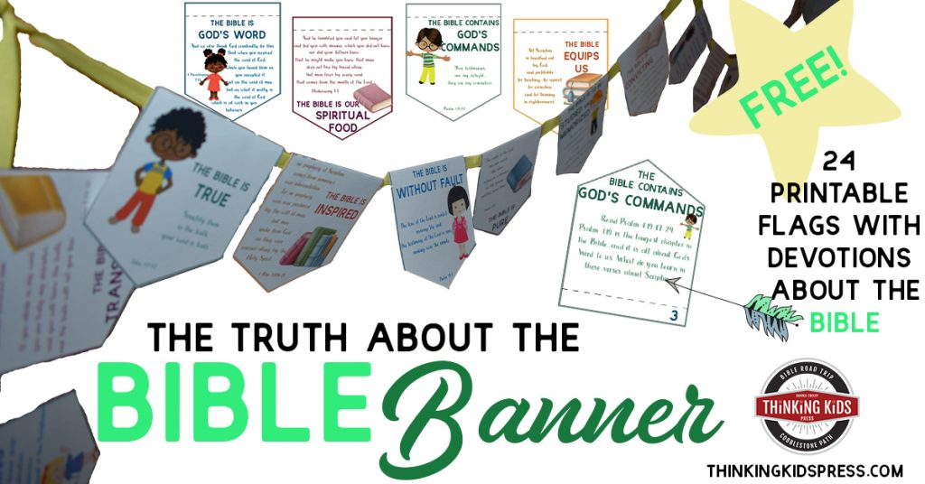 The Truth About the Bible Banner with Verses