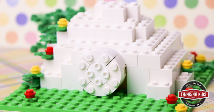 Build a LEGO Brick Empty Tomb of Jesus Christ