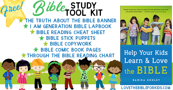 Bible Study Tools for Kids | FREE Bible Study Resources for Your Family