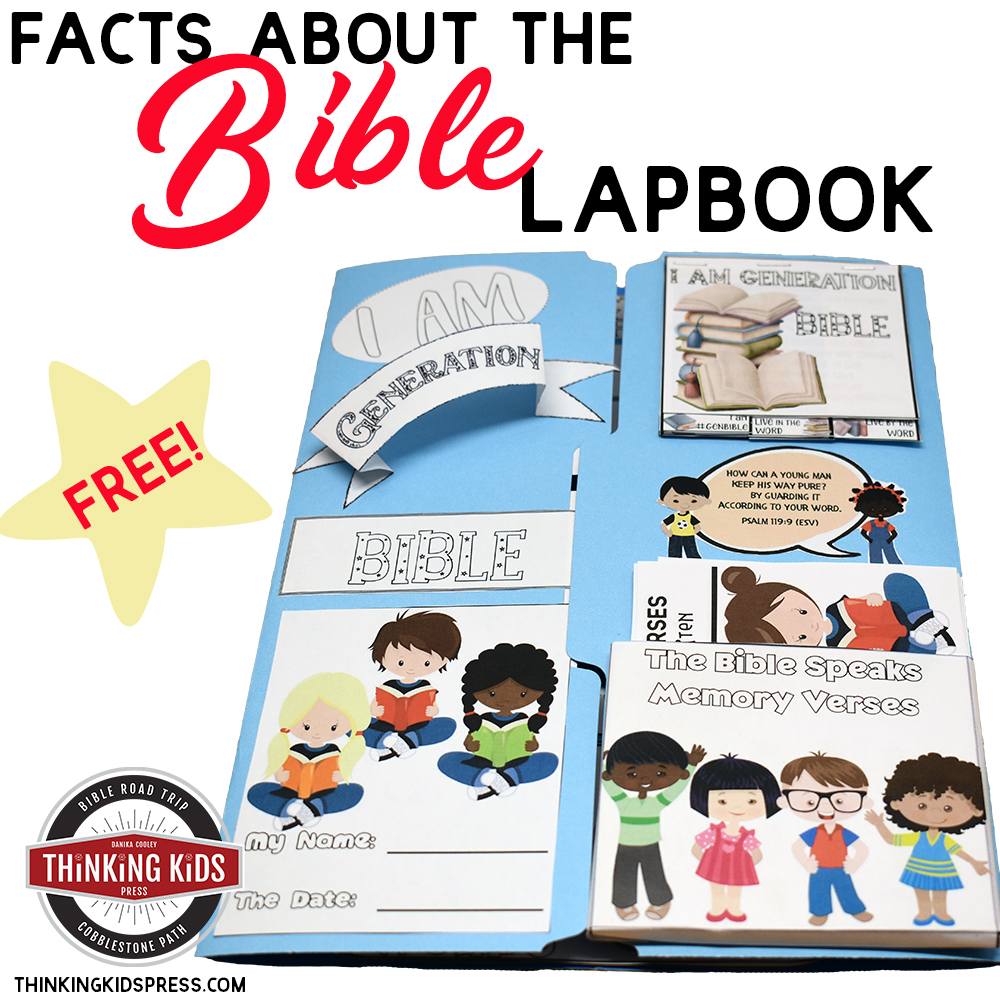 FREE! Facts about the Bible | I am Generation Bible Lapbook