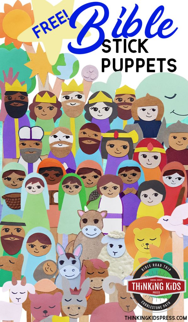 Free Printable Bible Stick Puppets