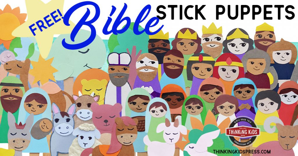 Free Printable Bible Stick Puppets
