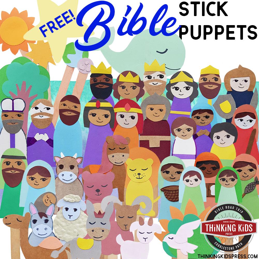 42 Free Bible Stick Puppets