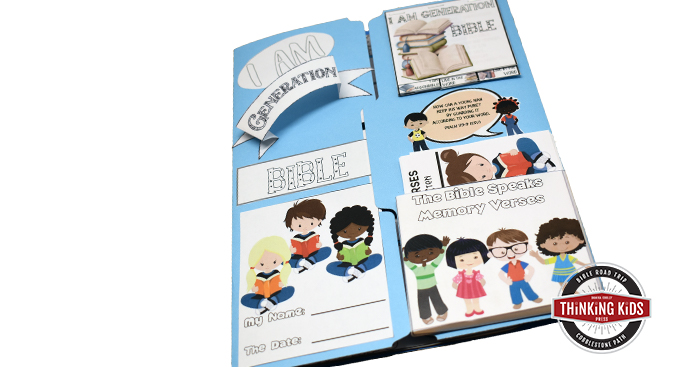 Facts about the Bible Lapbook | I am Generation Bible