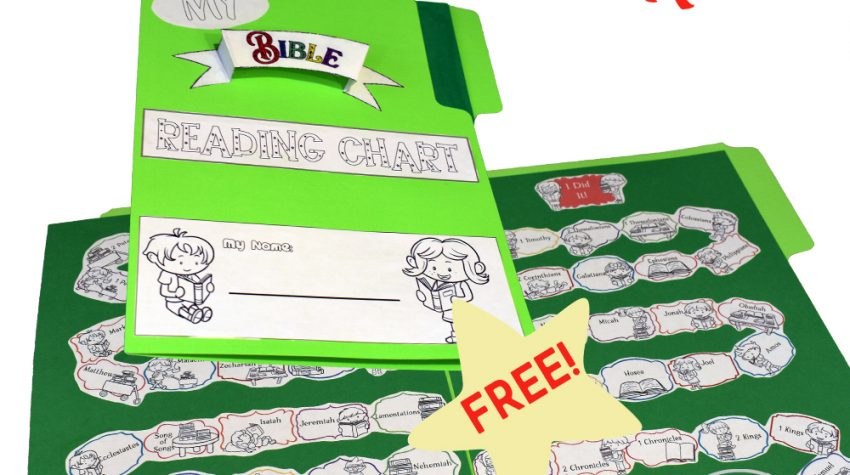 Journey Through the Bible | FREE Printable Reading Chart for Kids
