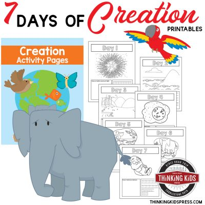 7 Days of Creation | Color Number Printables