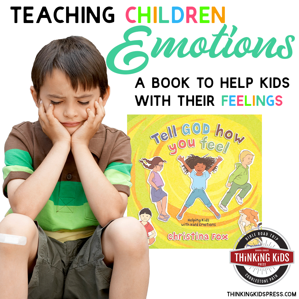 Teaching Children Emotions | A Book to Help Kids with Feelings