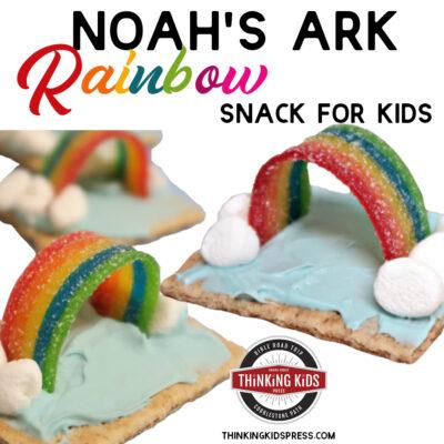 Noah's Ark Rainbow Snack for Kids