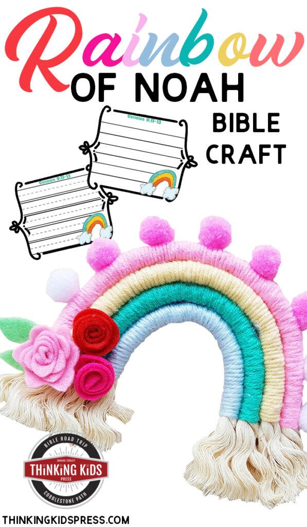 Rainbow of Noah Bible Craft