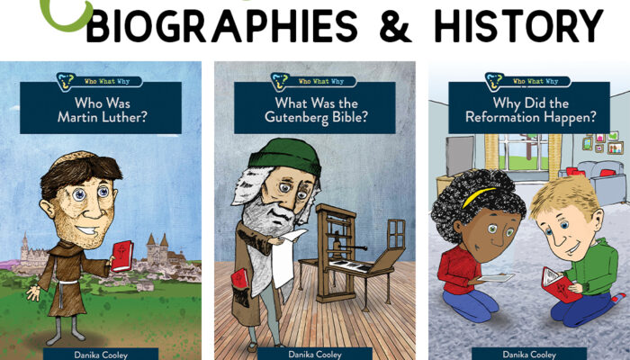 Who What Why Series | Christian Biographies for Kids
