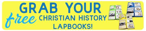 Free WWW Christian History Lapbooks Button