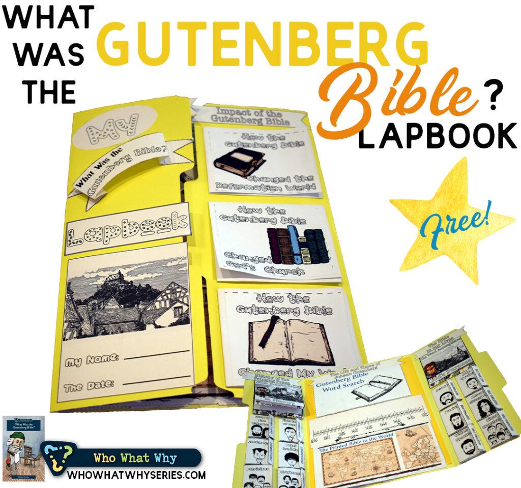 Gutenberg Bible History Lapbook