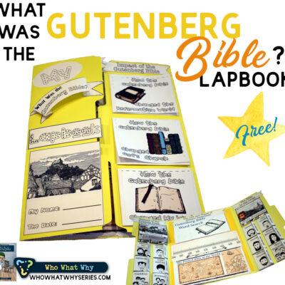 Gutenberg Bible | History Lapbook