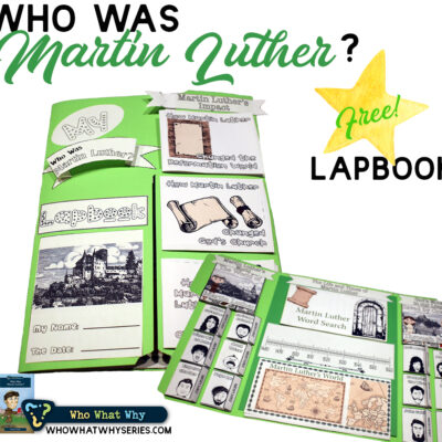 Martin Luther History for Kids   Biography Lapbook