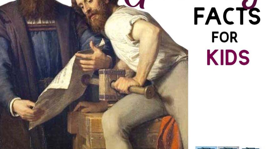 Johannes Gutenberg Facts for Kids